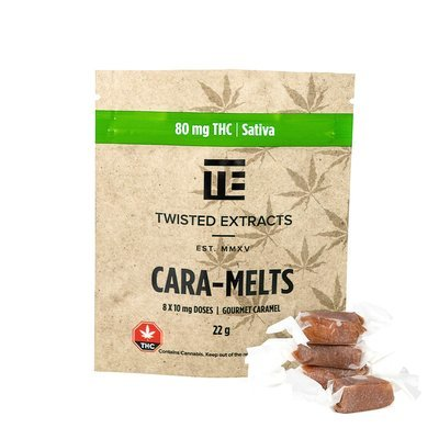Cara-Melts THC Sativa (80mg) by Twisted Extracts