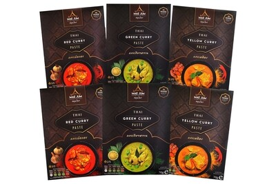 CLASSIC BUNDLE - Traditional Thai Curry Paste (6 packs x 70g)