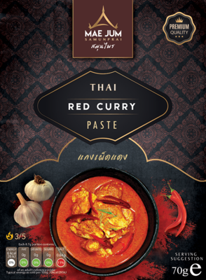 Traditional Thai Red Curry Paste