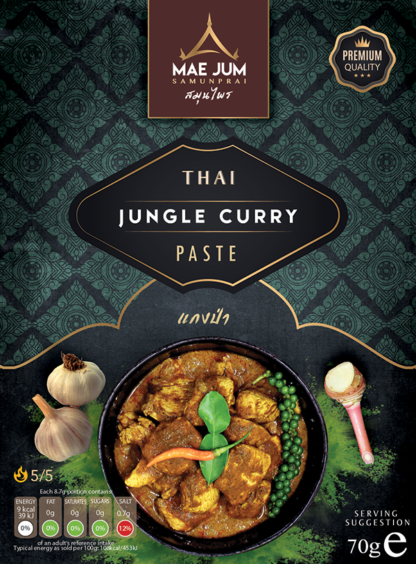 Traditional Thai Jungle Curry Paste