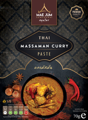 Traditional Thai Massaman Curry Paste