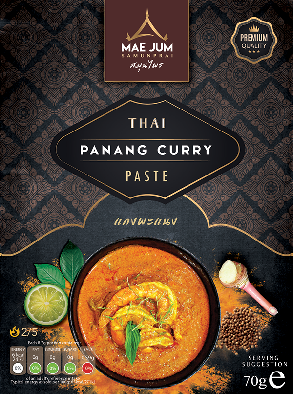 Traditional Thai Panang Curry Paste