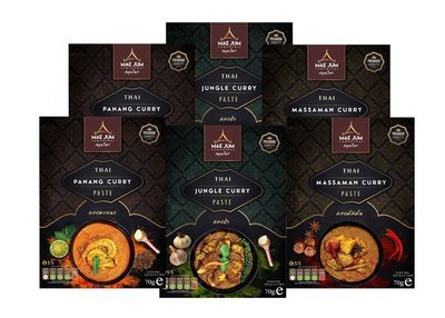 VARIETY BUNDLE - Traditional Thai Curry Paste (6 packs x 70g)