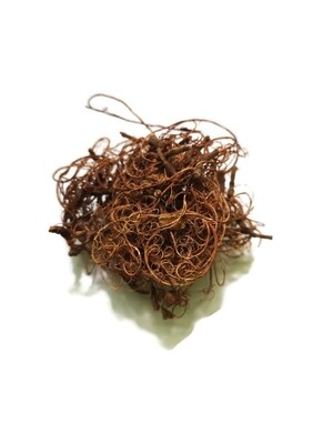 Curly moss brown (small bag)