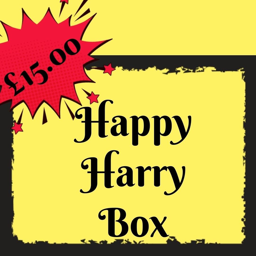 Happy As Harry box