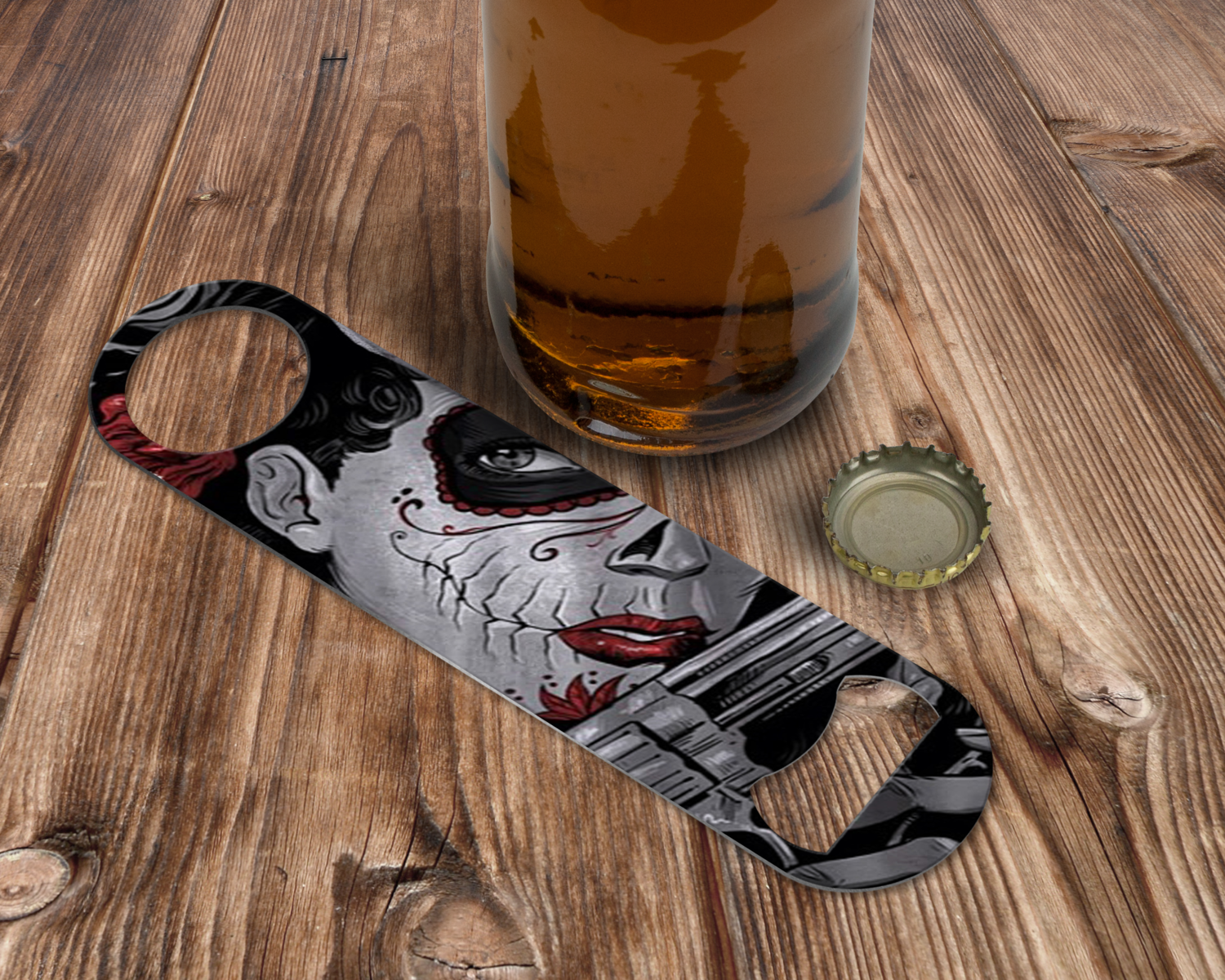 Custom Lady Gaga Bottle Opener