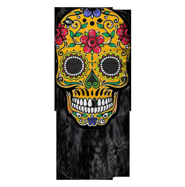 Our Custom Designed Day of Dead Gator Mask
