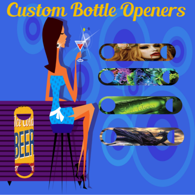 BULK- Customized Bottle Openers