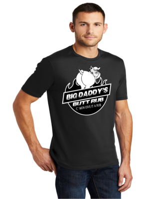 Men's Crew-Neck Shirt Big Daddy Butt Rub