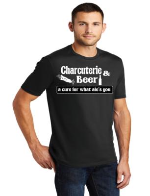 Men's Crew-Neck Shirt Charcuterie & Beer