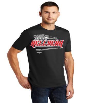 Men's Crew-Neck Shirt BBQ Hell Yeah