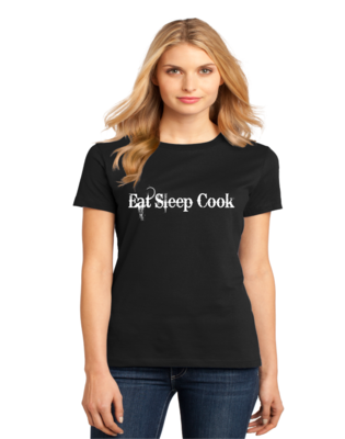 Women's Crewneck Eat Sleep Cook