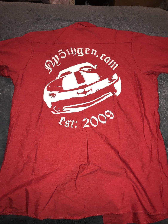 Ny5thgen Work Shirt