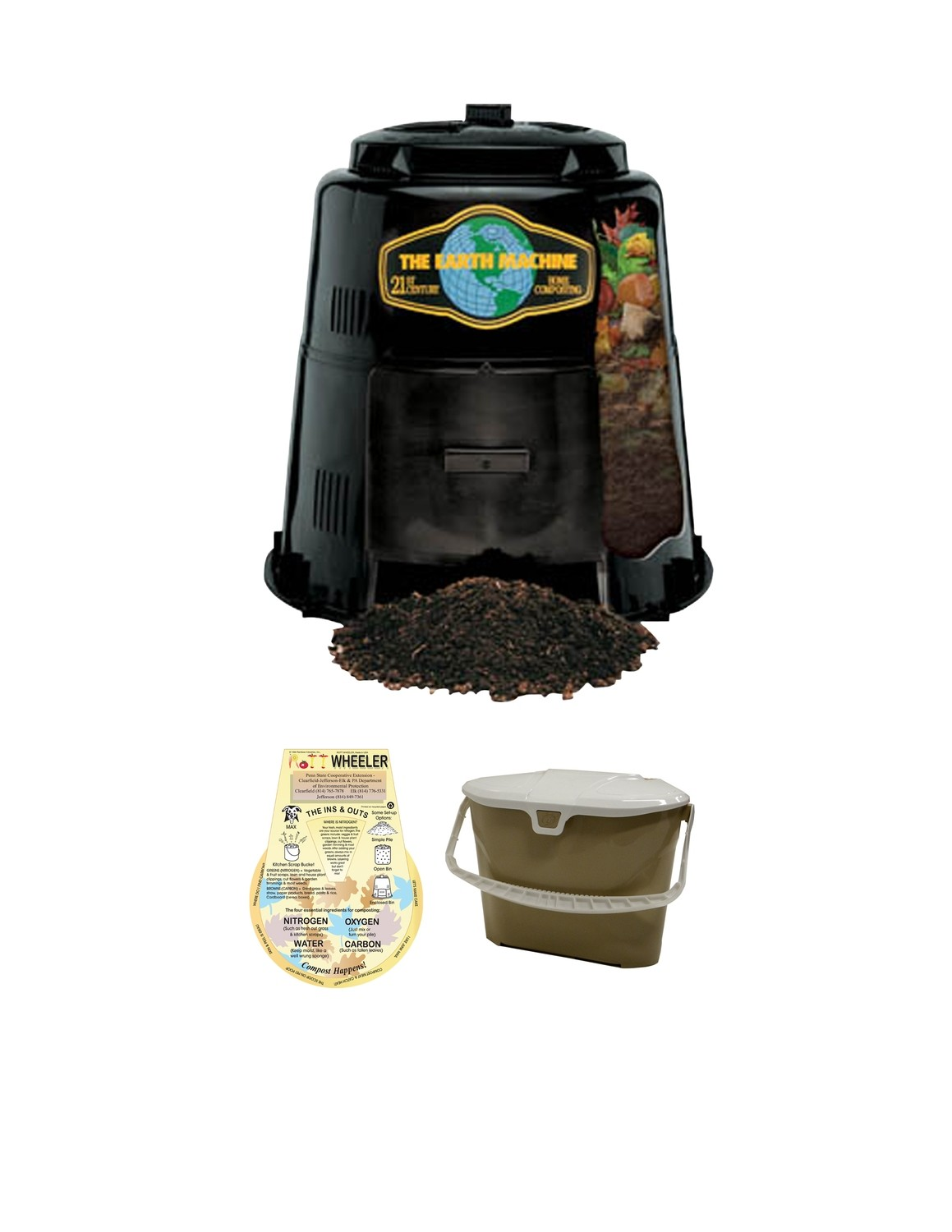 KIT 1 - Composter & Collection Pail