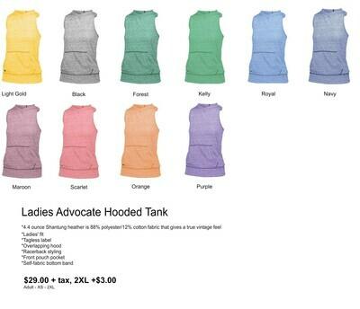 Ladies Advocate Hooded Tank