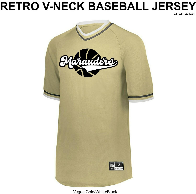 Retro V-Neck Jersey