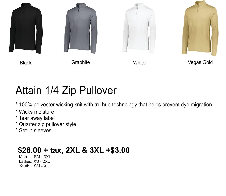 Attain 1/4 Zip Pullover