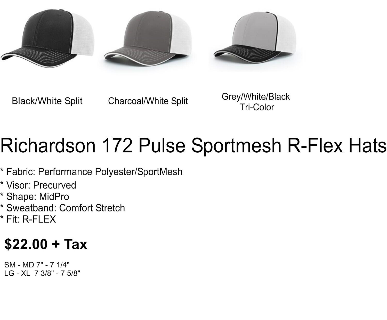 Richardson 172 Pulse Sportmesh R-Flex Cap