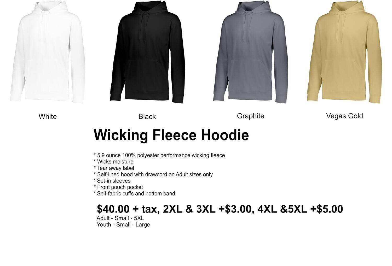 Wicking Fleece Hoodie
