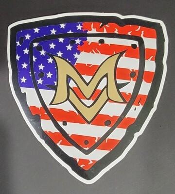 Sticker - Patriotic Shield