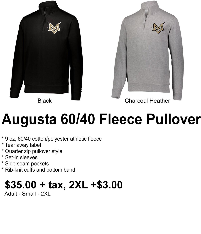 Embroidered Augusta 60/40 Fleece Pullover