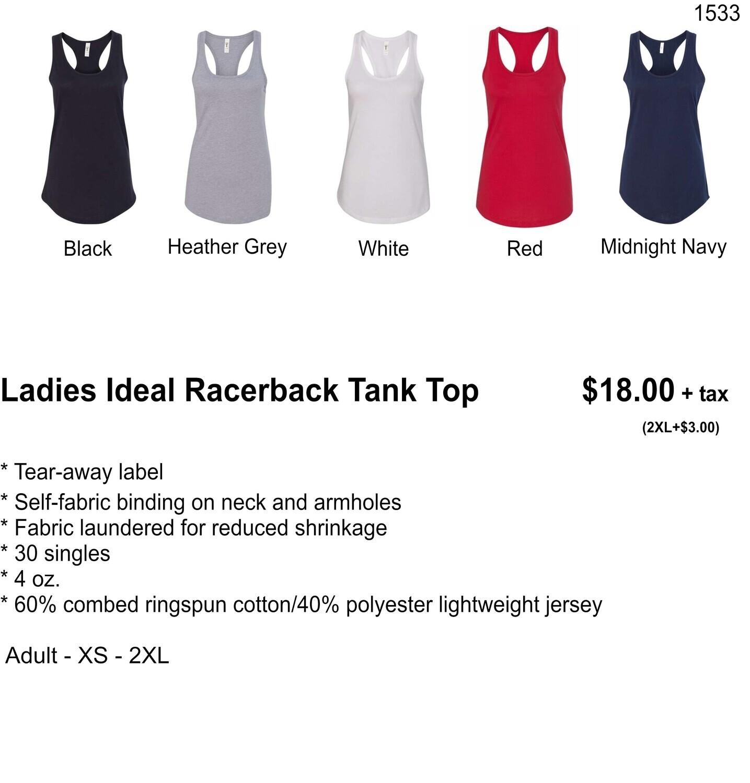 Ladies Ideal Racerback Tank Top