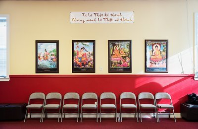 Buddhist Posters Framed Print | 20x24