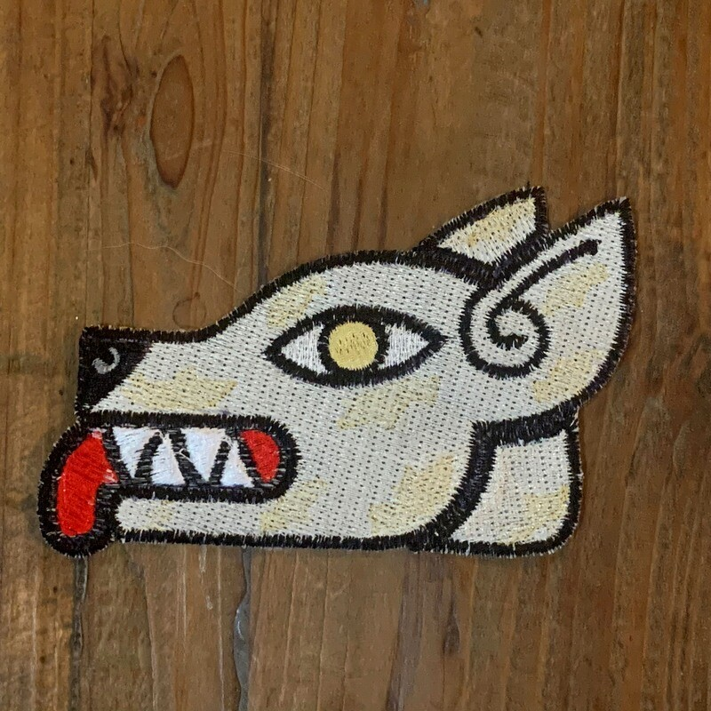 Itzcuintli Embroidered Patch