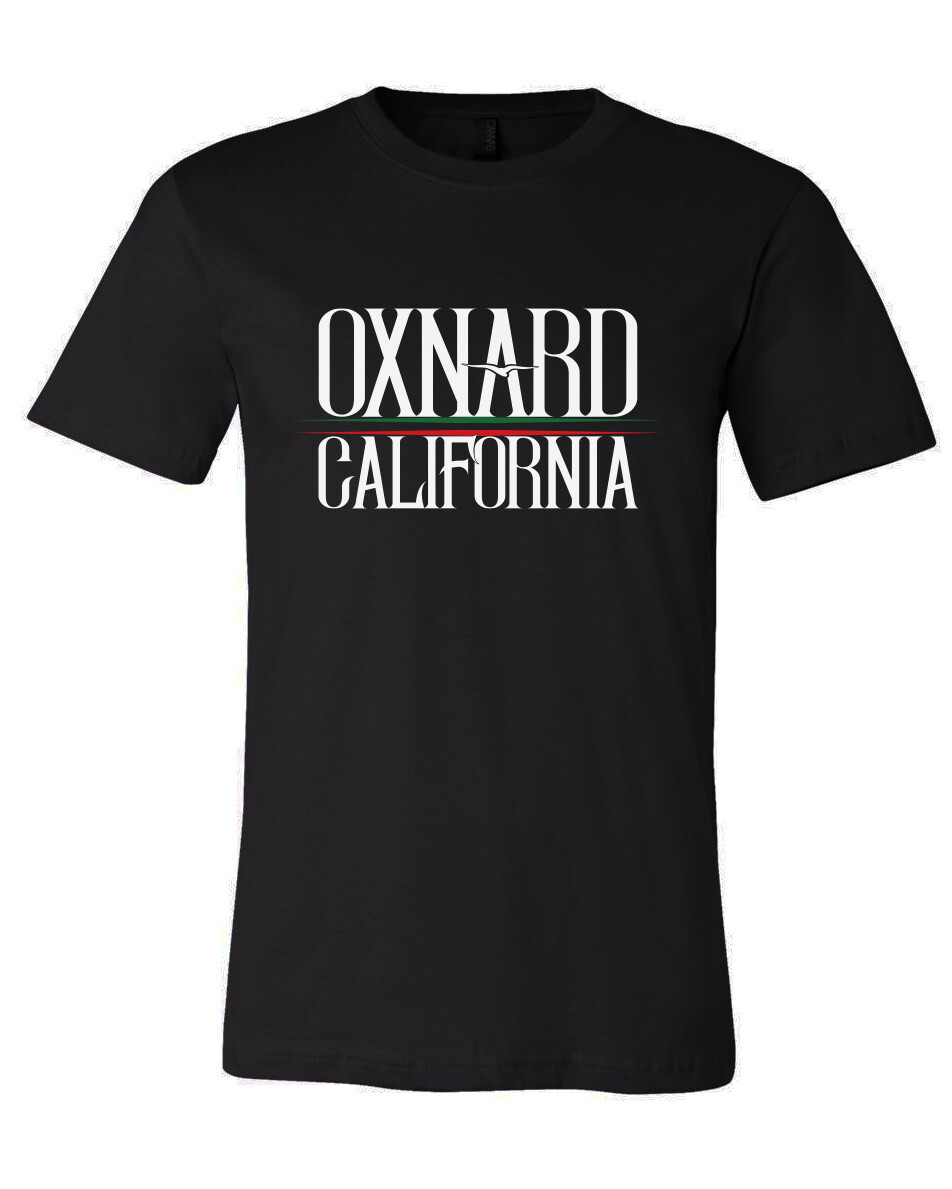 Oxnard California GG Mens T-shirt Black
