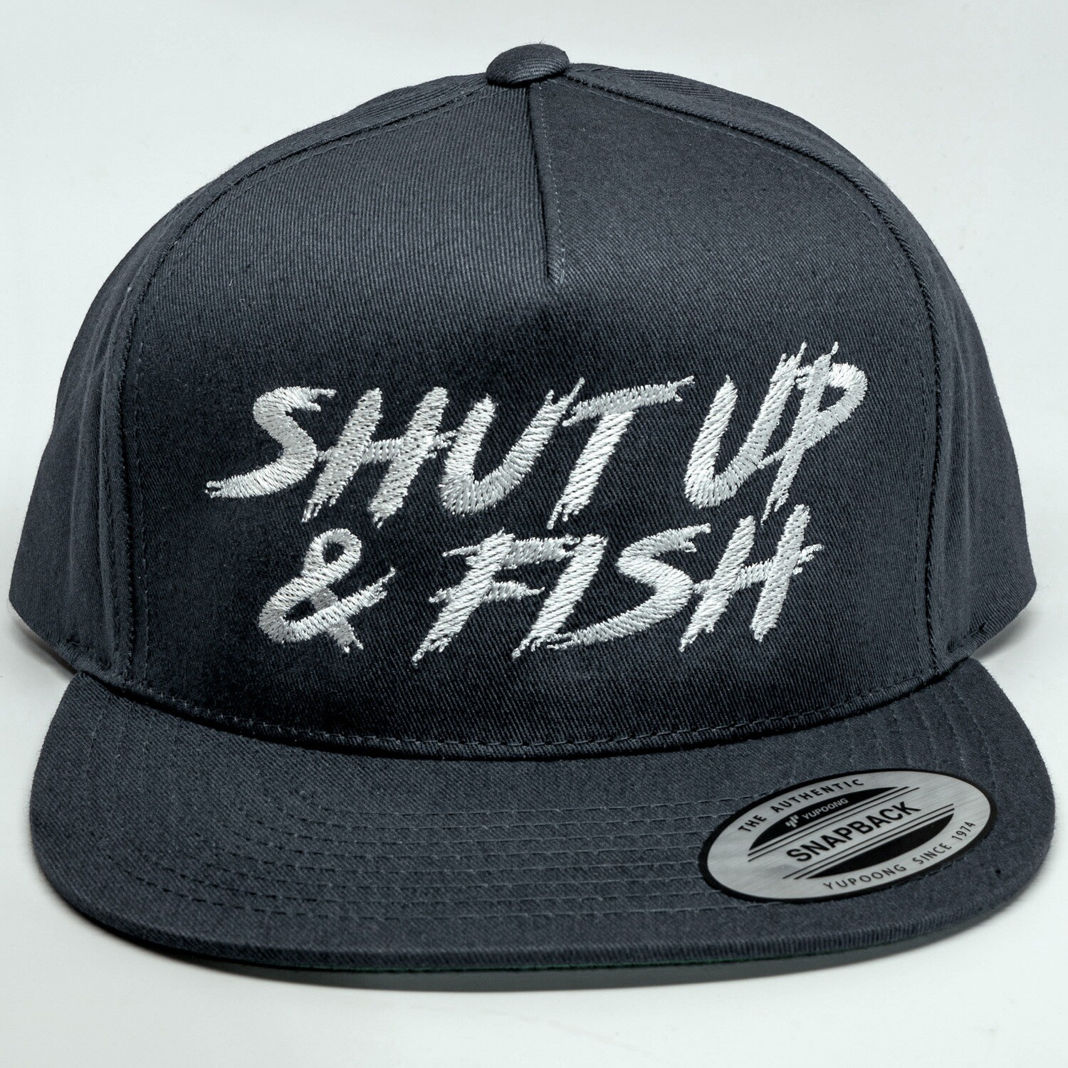 Shut Up & Fish Snapback Hat