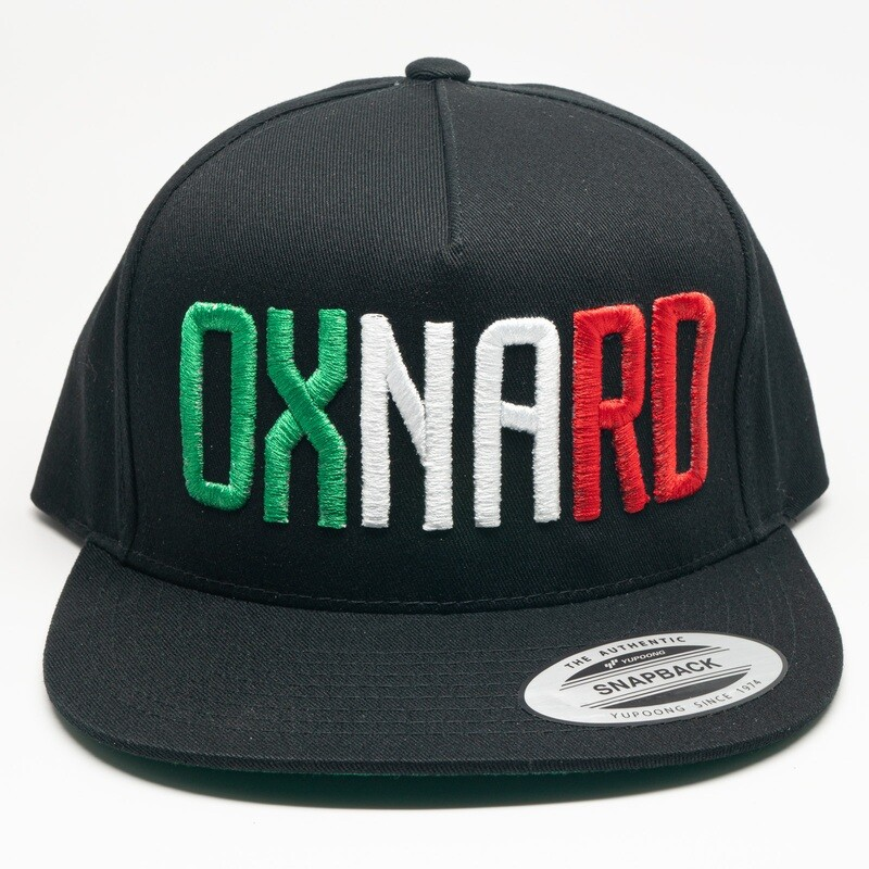 Oxnard Mexican Block Snapback Hat