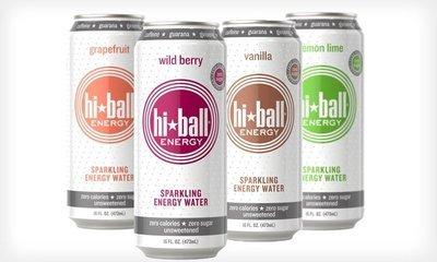 HiBall Energy Drink- Assortment - 12pack