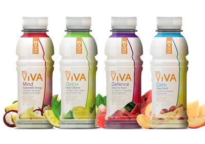 Viva Detox Drinks - Variety Pack of 12
