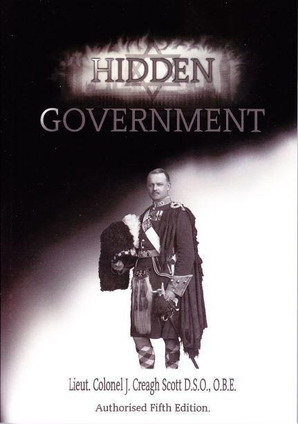Hidden Government - by John Creagh Scott (Hardback)
