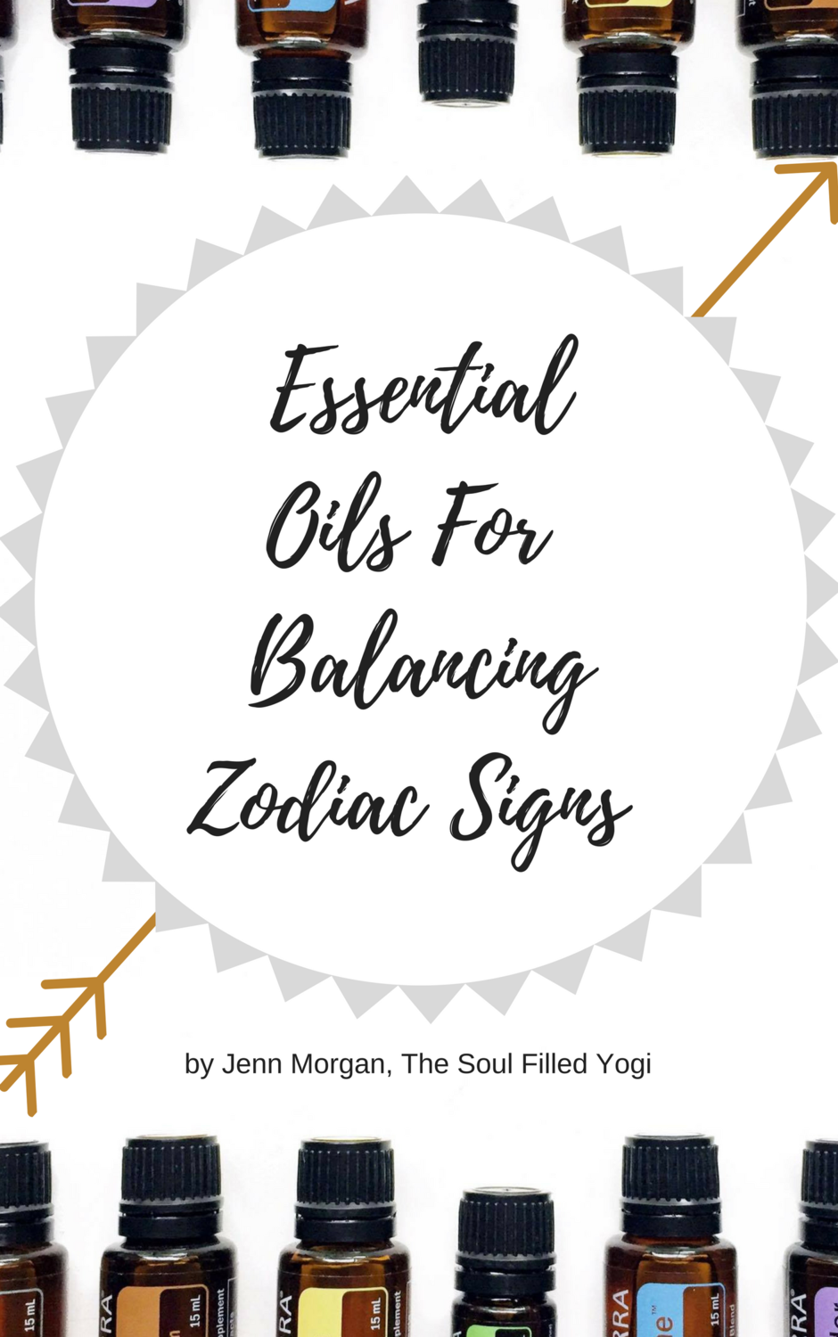 Essential Oils for Balancing Each Zodiac Sun Sign (Instant Download)