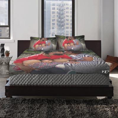 Custom Duvet Cover with 2 Pillowcases set