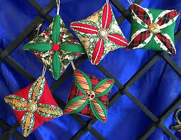 PATRIOTIC CATHEDRAL WINDOW ORNAMENTS -3 Hour Class -  Thursday, November 5th -5:30-8:30