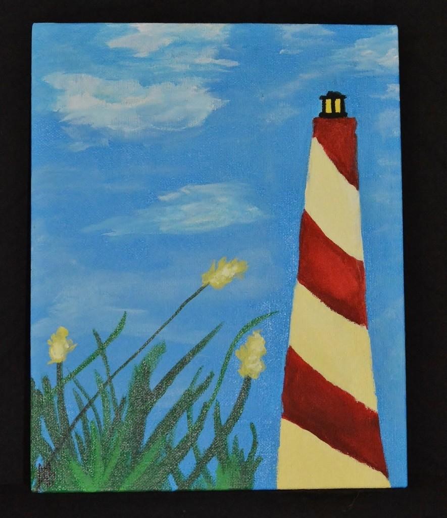 Lighthouse & Sea Oats