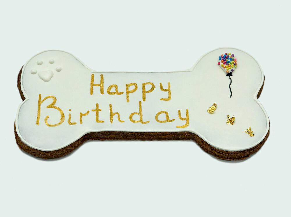 "6.5"" Birthday Gold"