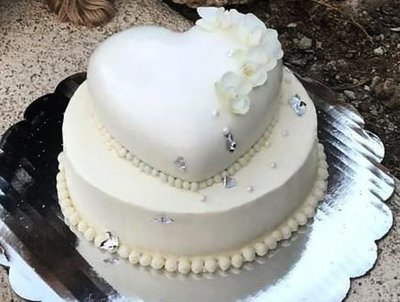 Two Tiered Wedding