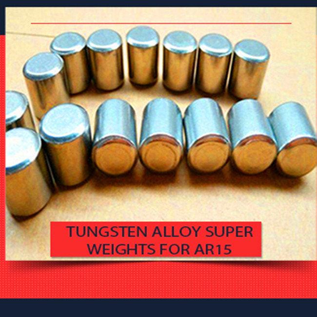 Tungsten Alloy Buffer Weights for AR15