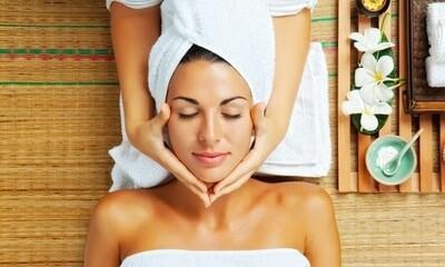 Coffret bien-êtreproduits et massage soin du visage