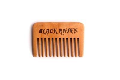 Black Raven Beard Comb