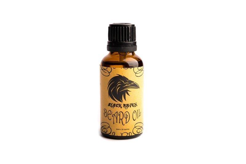 Black Raven Beard Oil