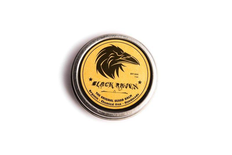 Black Raven Beard Balm