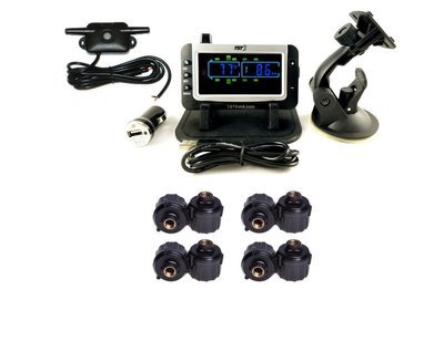 507 Series - 8 RV Cap Sensor TPMS System With Color Display