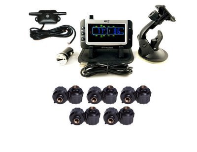 507 Series - 10 RV Cap Sensor TPMS System With Color Display