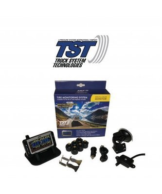 507 Series - 6 RV Cap Sensor TPMS System With Color Display