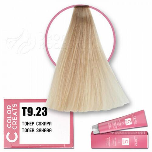TEFIA - Т 9-23 Краска для волос Color Creats Тонер САХАРА, 60мл