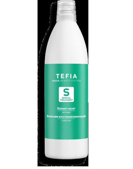 TEFIA - Бальзам восстанавливающий с Кератином SPECIAL TREATMENT, 1000мл